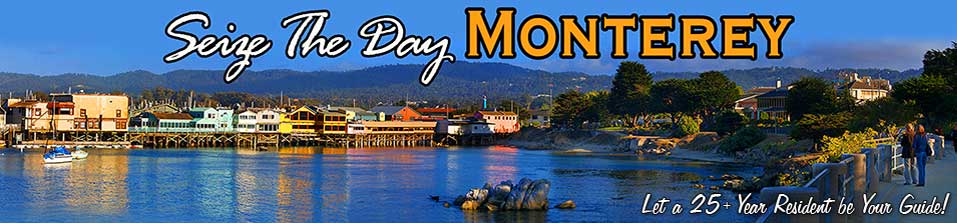 Seize The Day Monterey California! Let a 25+ Year Resident be your Guide!
