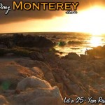 Pacific Grove Asilomar Beach Sunset