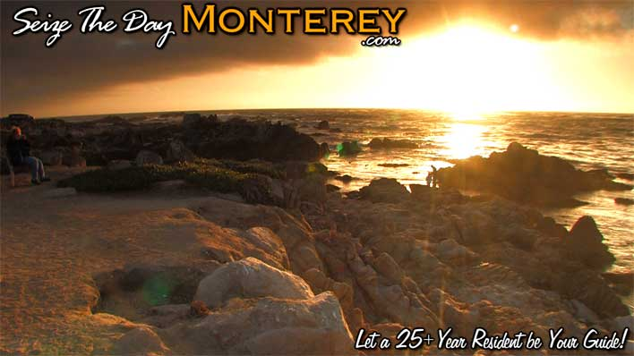 Pacific Grove Asilomar Beach Sunset in the Monterey Bay!