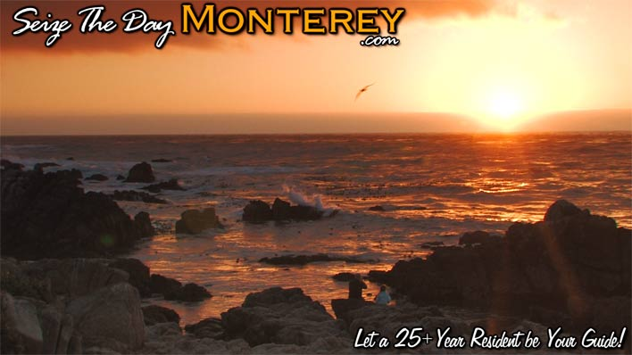 Gorgeous Sunset of Pacific Grove Asilomar in Monterey Bay!!!